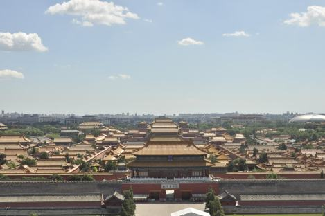 The Forbidden City from the Jingshan Park