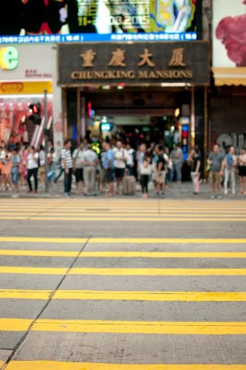 Chungking Mansions entrance