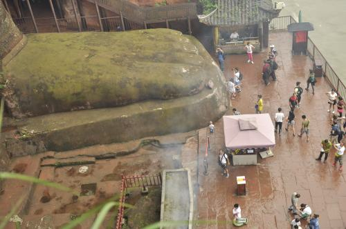 Base of the Giant Buddha