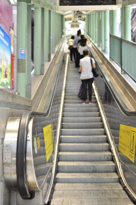 The Central – Mid-Levels Escalator system