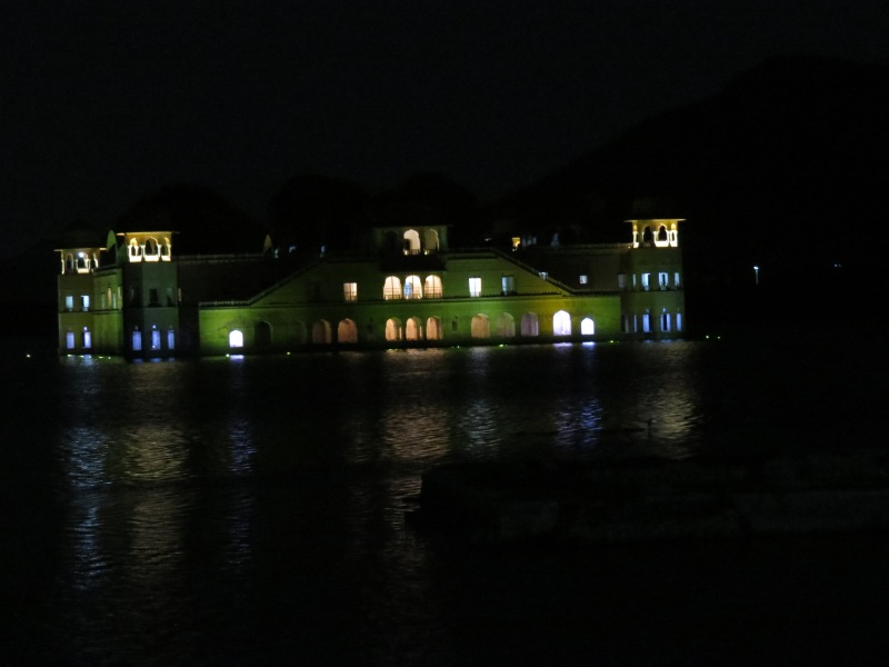 Jal Mahal at night