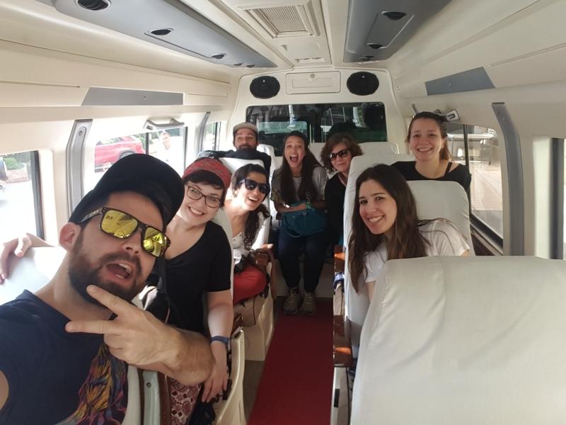 Our happy van