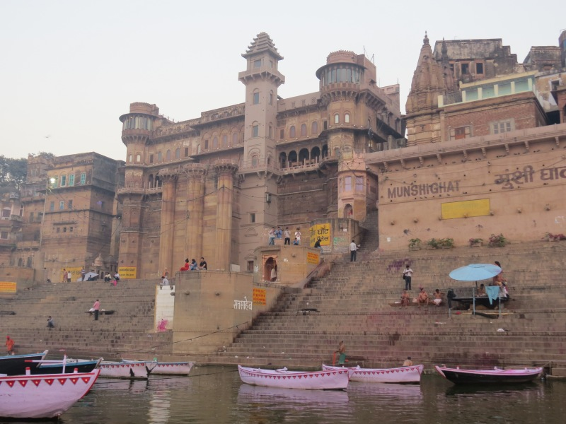 From the Ganges river