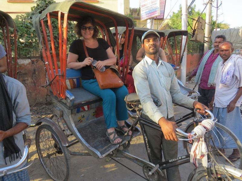 Varanasi by rickshaw