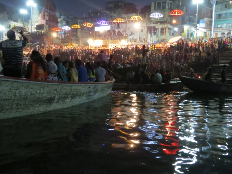 Aarti ceremony at Ganges River
