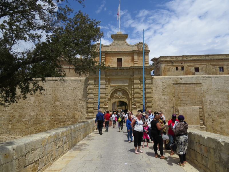 Getting into the Mdina