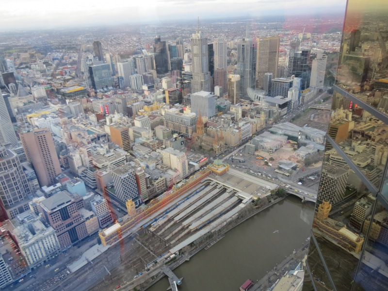 view from Eureka Tower