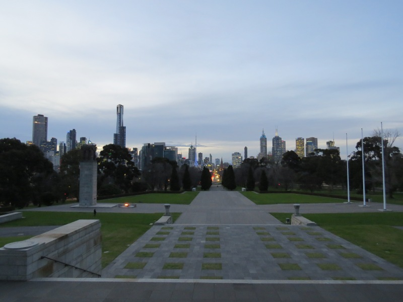 View from Shrine Remembrance
