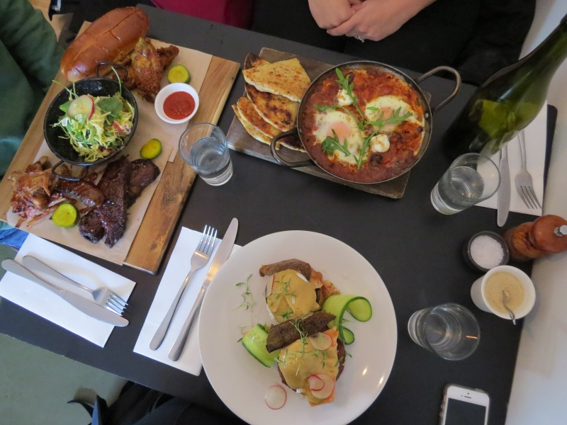 brunch in Miss Jackson in St. Kilda