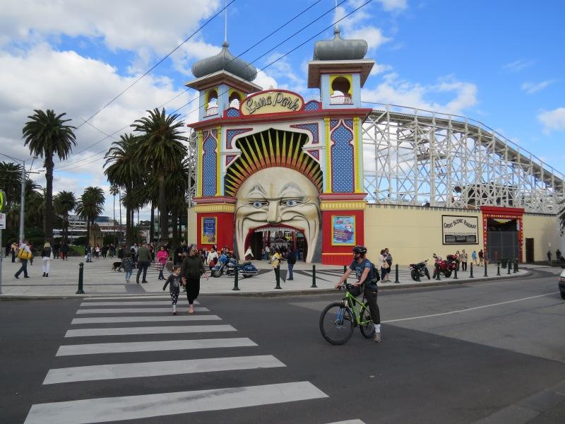 Luna Park at St. Kilda
