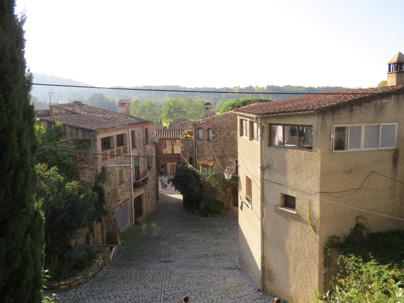 The view form the Castle