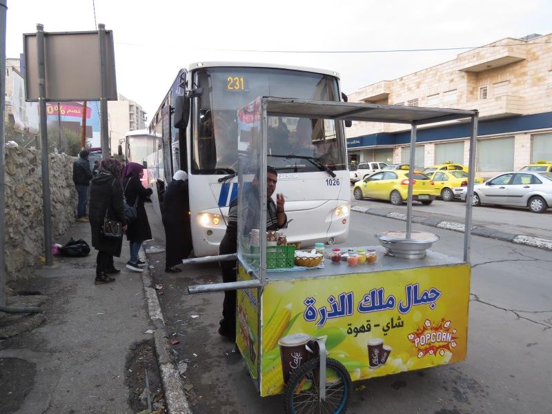 Our bus back to Jerusalem