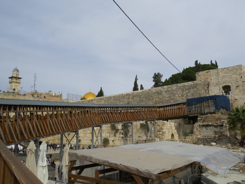 The way to the Temple Mount