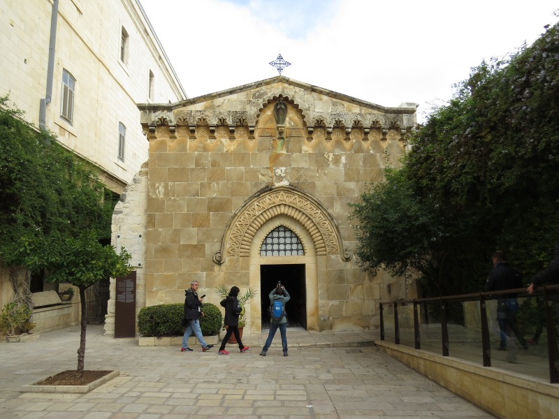 The Chapel of the Flagellation