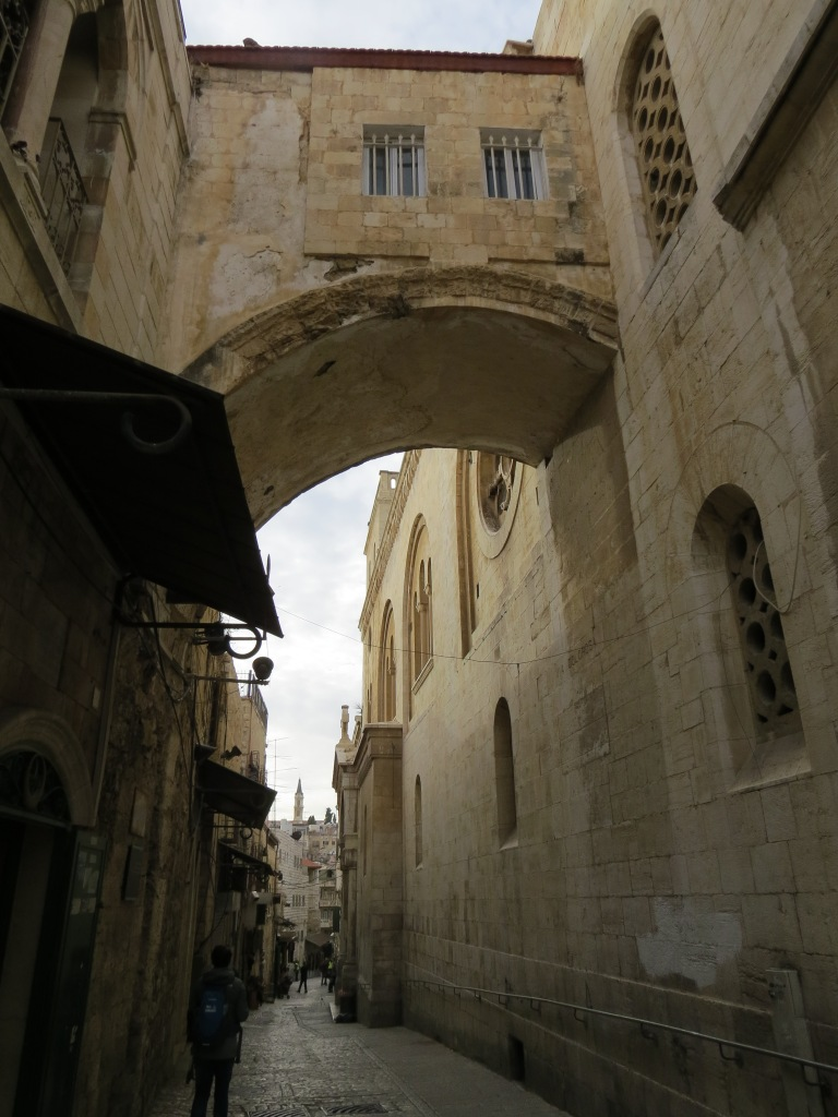 2nd station: The Ecce Homo Arch