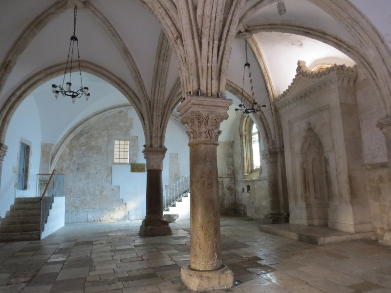 The last supper room (The Cenacle)