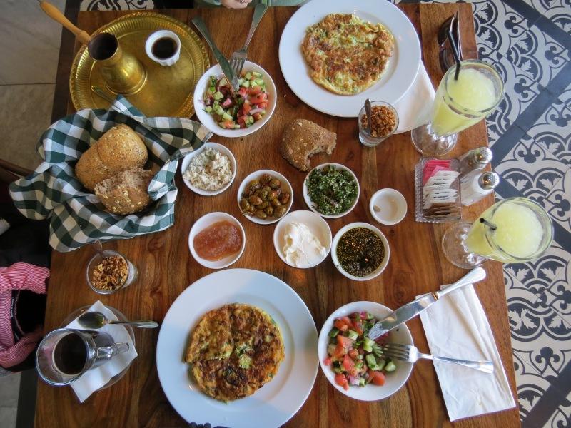 Breakfast at Jaffa