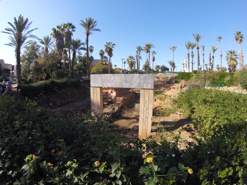 The Egyptian Gate of Rameses II